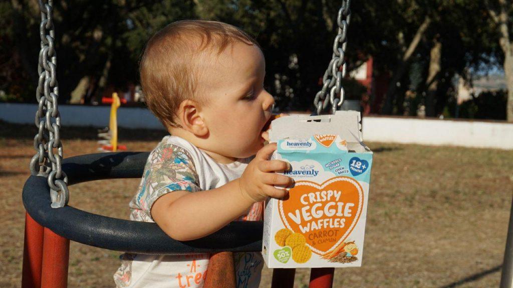 Aperitivos organicos y naturales para bebes, para, manzana, enzo, aperitivos, pero, azúcar, pequeños, heavenly, estos, este